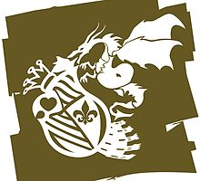 The_Dragon_Strikes by auraclover