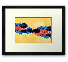 Tectonic Framed Print