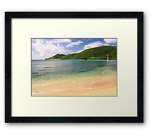Reef Bay St. John Framed Print