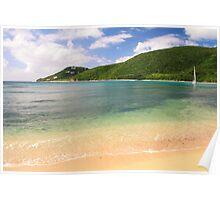 Reef Bay St. John Poster