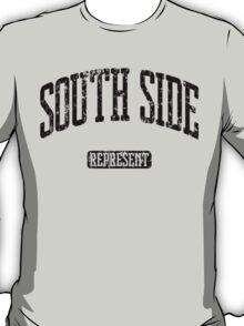 South Side Represent (Black Print) T-Shirt