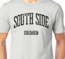 South Side Represent (Black Print) Unisex T-Shirt