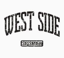 West Side Represent (Black Print) Baby Tee