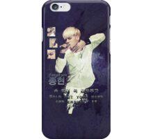 Jonghyun  iPhone Case/Skin
