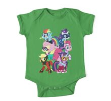 Power Ponies Reassemble One Piece - Short Sleeve