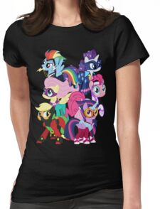 Power Ponies Reassemble Womens Fitted T-Shirt