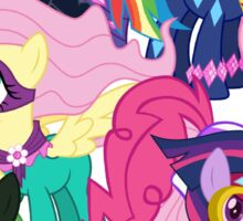 Power Ponies Reassemble Sticker