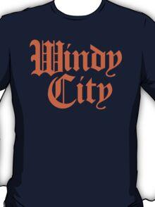 Windy City Gothic (Orange Print) T-Shirt