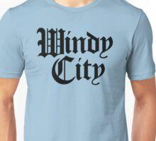 Windy City Gothic (Black Print) Unisex T-Shirt