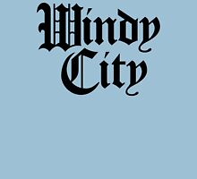 Windy City Gothic (Black Print) Unisex T-Shirt