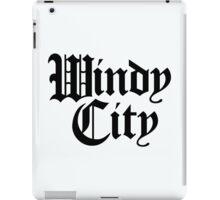 Windy City Gothic (Black Print) iPad Case/Skin