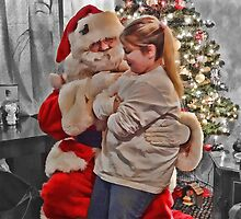 Dear Santa, All I Want for Christmas are Glitter Go Go Boots by vigor