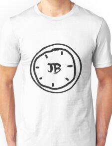 Clock Jb - Black Unisex T-Shirt