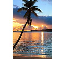 Tropical Sunset St. Thomas Photographic Print
