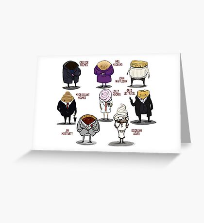 Baker Street Boys Greeting Card