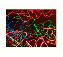playing with light Art Print