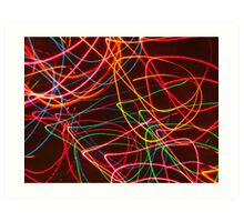 playing with light 2 Art Print