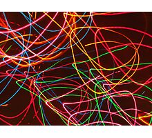 playing with light 2 Photographic Print