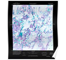 USGS Topo Map  Vermont VT Morses Line Station 337760 1977 25000 Inverted Poster