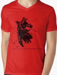 Lautrec The Embraced Mens V-Neck T-Shirt