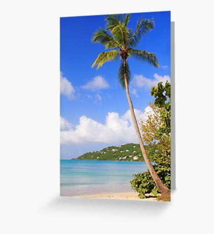 Magens Bay Beach, St. Thomas Greeting Card
