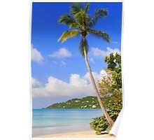 Magens Bay Beach, St. Thomas Poster
