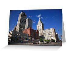 Tulsa Skyline Greeting Card