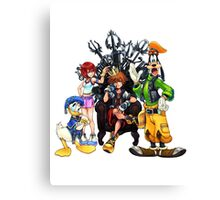 Kingdom Hearts Canvas Print