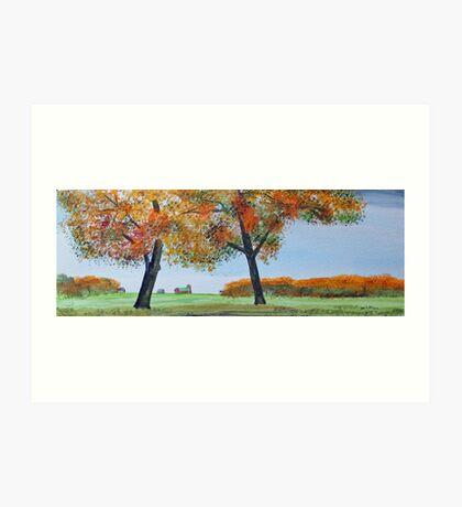 Rural Color Art Print