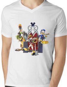Kingdom Hearts Mens V-Neck T-Shirt