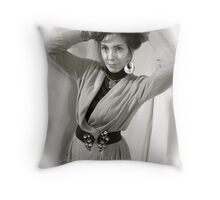 You're so beautiful Adel !  Made in Brown Sugar. Throw Pillow