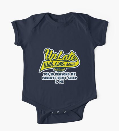 Uplate with little man One Piece - Short Sleeve