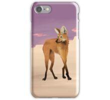 Maned Wolf iPhone Case/Skin