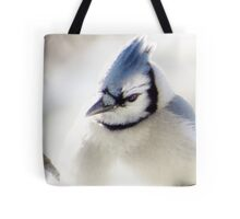 Winter Blues & Grays Tote Bag