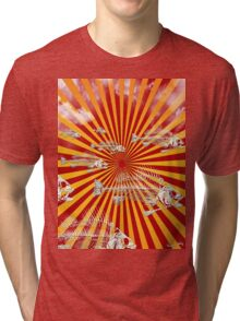 Fish Migration (Fukushima) Tri-blend T-Shirt