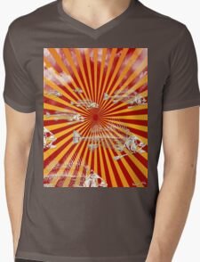 Fish Migration (Fukushima) Mens V-Neck T-Shirt
