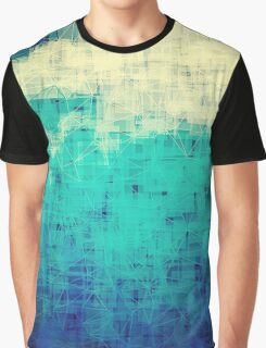 ice-flow pixelated abstration Graphic T-Shirt