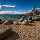 At Secret Cove - Lake Tahoe by Richard Thelen