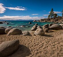 At Secret Cove - Lake Tahoe by Richard Thelen