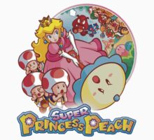 Super Princess Peach One Piece - Long Sleeve