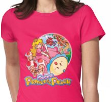 Super Princess Peach Womens Fitted T-Shirt
