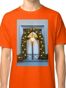 Christmas Window Classic T-Shirt