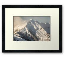 Ancient Snow Giant Framed Print