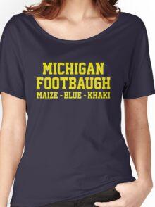 Michigan Footbaugh Women's Relaxed Fit T-Shirt