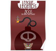 League of legends - Ziggs the hexplosives expert Poster