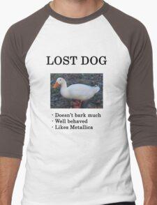 Lost Dog / Duck Men's Baseball ¾ T-Shirt