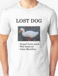 Lost Dog / Duck Unisex T-Shirt