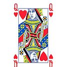 Smartphone Case - Queen of Hearts by Mark Podger