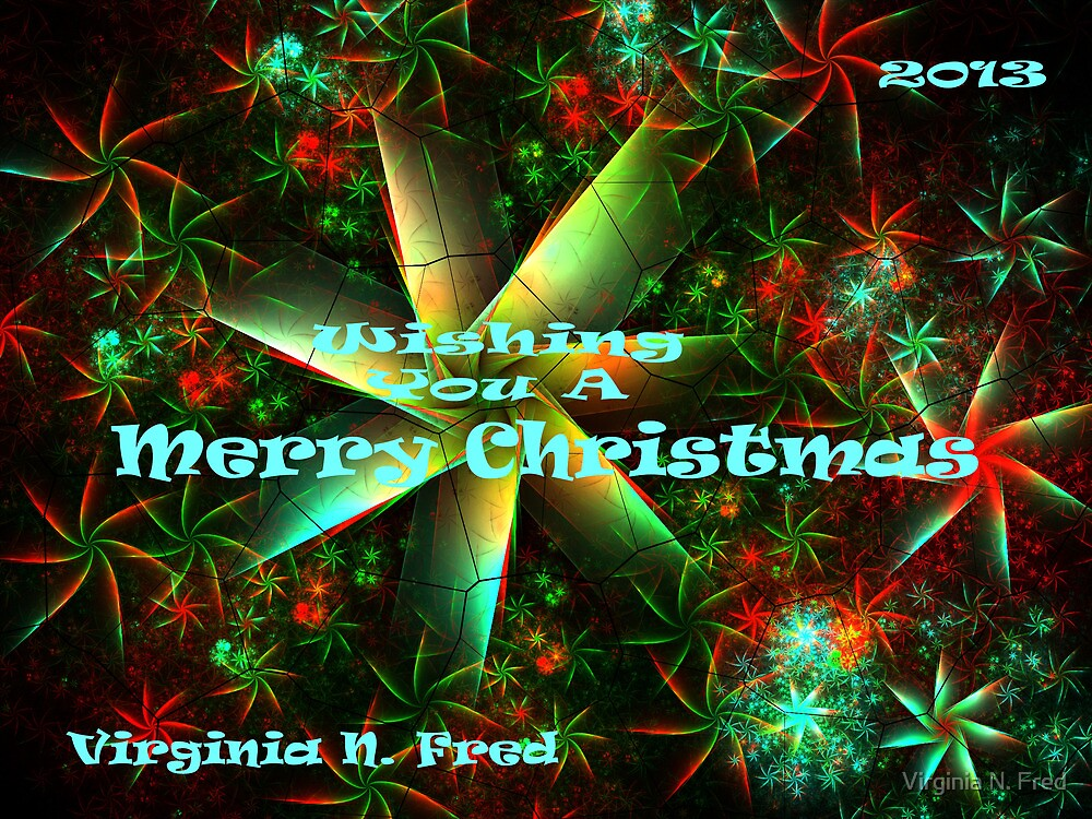 Merry Christmas by Virginia N. Fred