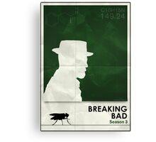 Breaking Bad season 1 minimalist poster Canvas Print